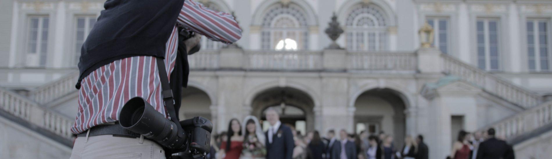 Wedding in Munich Nymphenburg Palace by KebyFilms